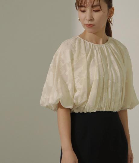 【低身長向けサイズ】異素材ドッキングワンピース(ワンピース・ドレス/ドレス・パーティードレス) | AULI