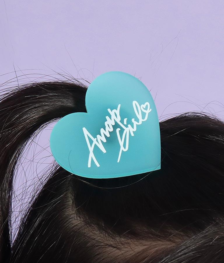 キャンディーカラーハートヘアゴム(アクセサリー/ヘアアクセサリー ・ヘアバンド ) | ANAP GiRL