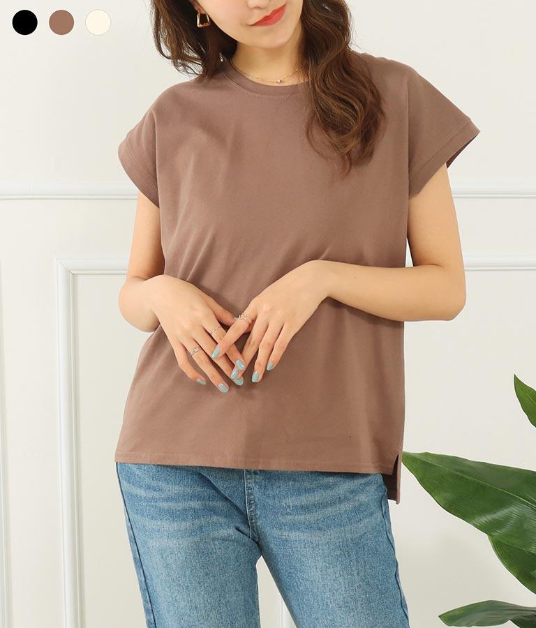 シンプルノーマルTシャツ(トップス/Tシャツ) | CHILLE