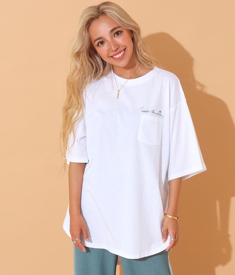 メッセージプリントTシャツ(トップス/Tシャツ) | anap mimpi