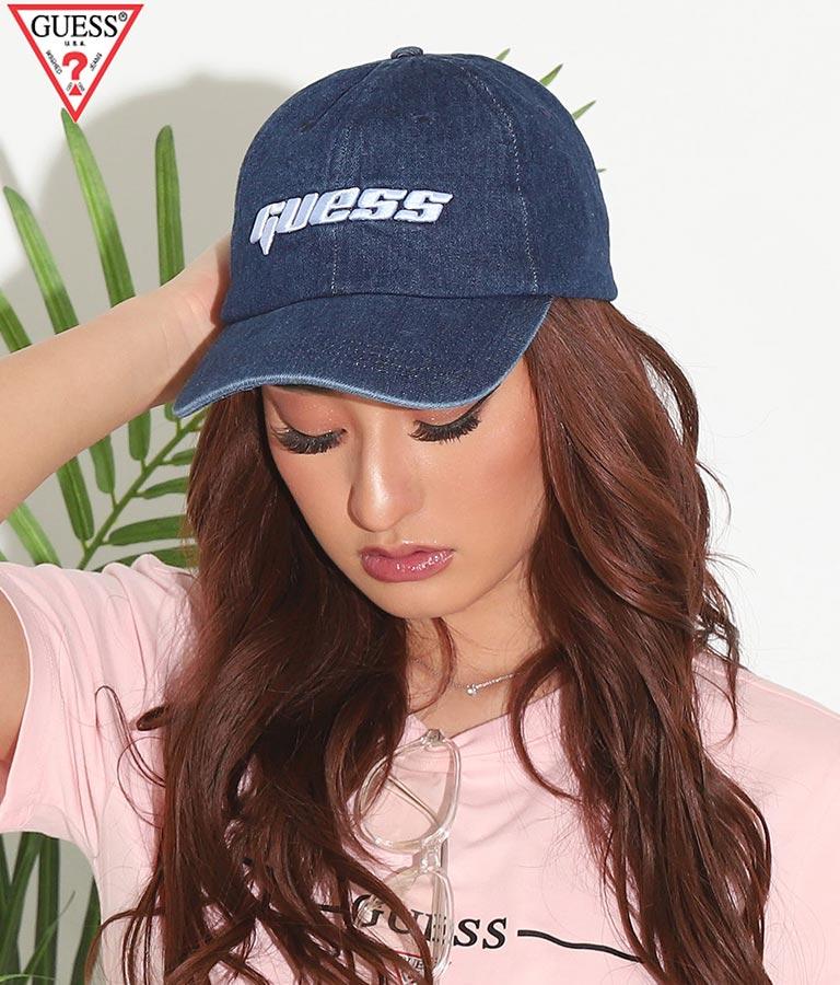 DENIM CAP(ファッション雑貨/ハット・キャップ・ニット帽 ・キャスケット・ベレー帽) | GUESS