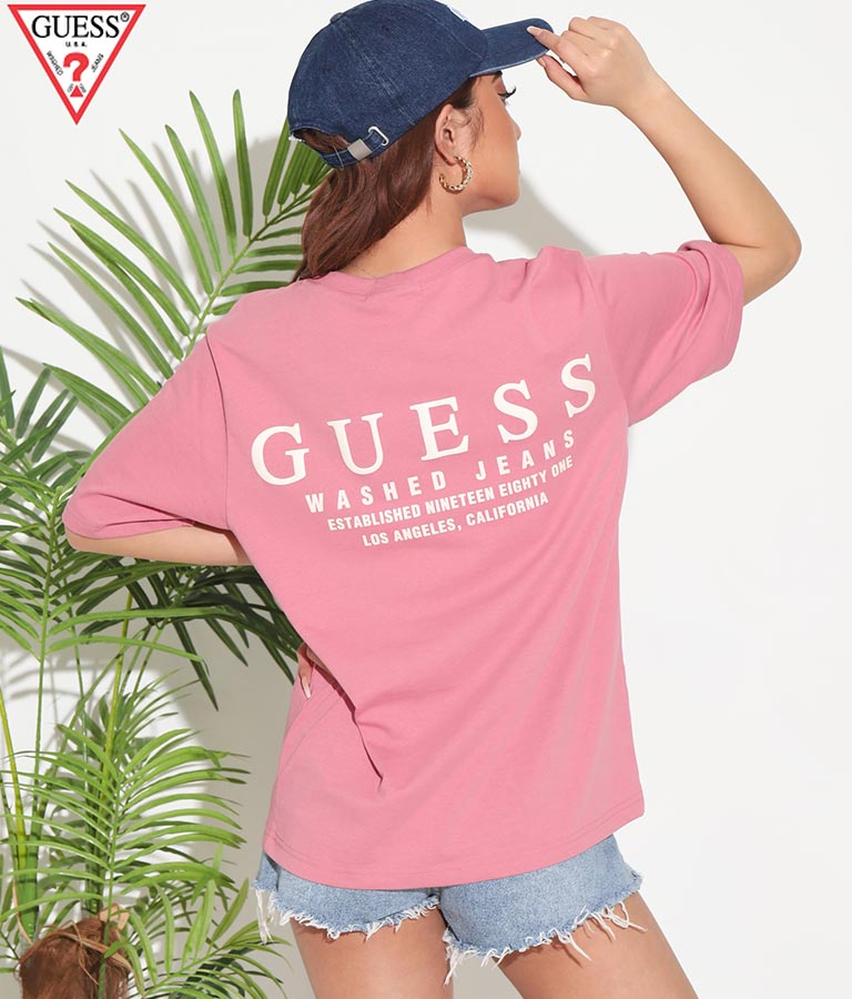 MEN'S S/SLV TEE SHIRT(トップス/Tシャツ) | GUESS