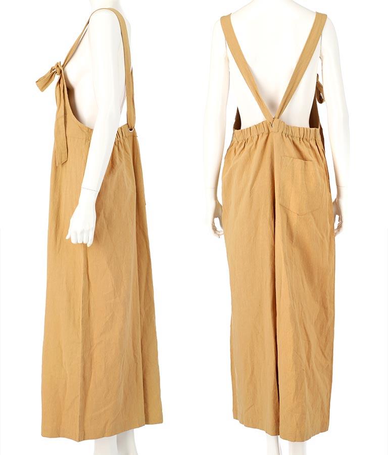 ワイドサロペット(ワンピース・ドレス/サロペット/オールインワン)   Alluge