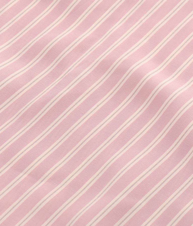 ストライプスキッパーギャザーワンピース(ワンピース・ドレス/ロングワンピ・マキシ丈ワンピース) | Alluge
