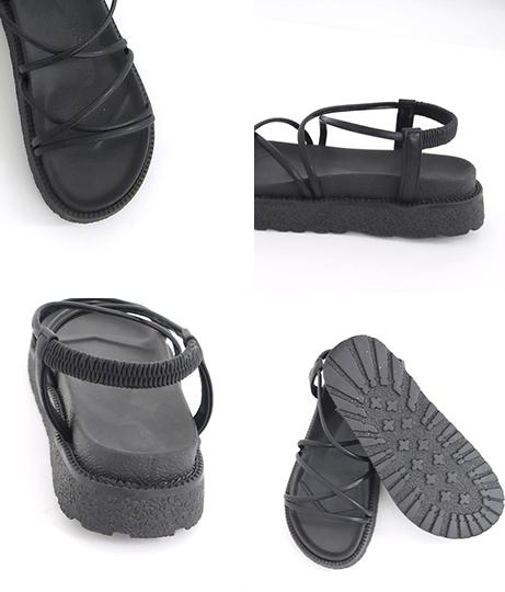 コードフラットサンダル(シューズ・靴/サンダル)   Factor=