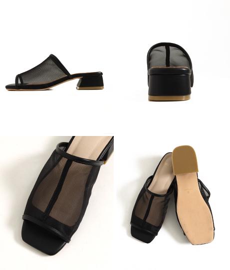 チュールミュール/サンダル(シューズ・靴/サンダル) | Factor=