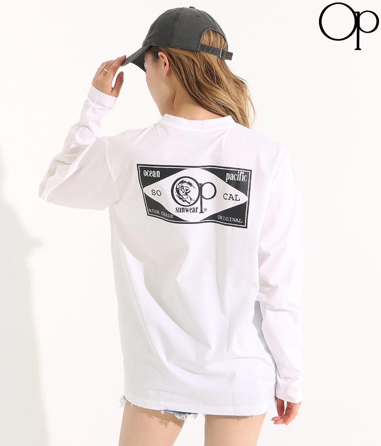ロゴプリントUVTシャツ