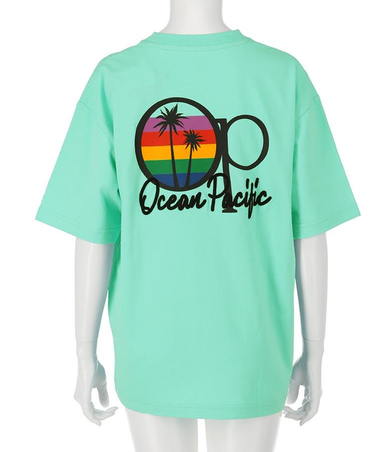 ポケット付バックプリントシャツ(トップス/Tシャツ)   OP Ocean Pacific