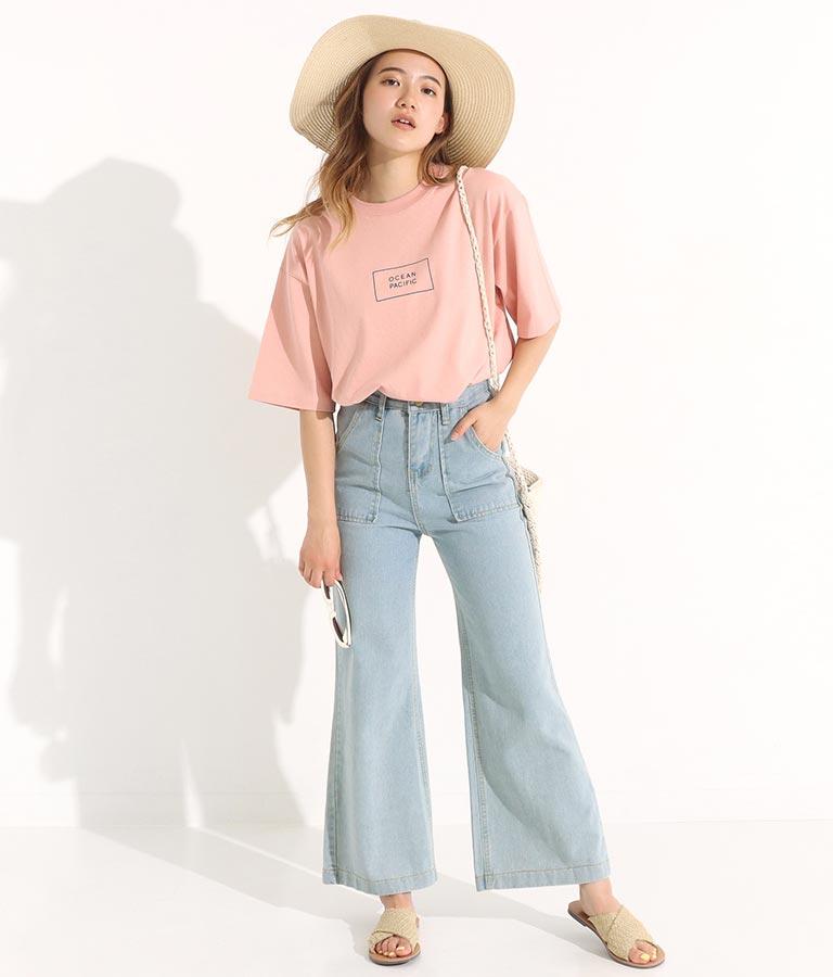 BOXデザインTシャツ(トップス/Tシャツ) | OP Ocean Pacific