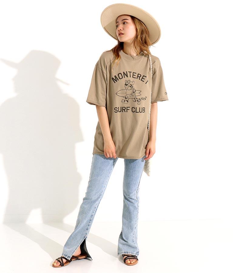 カレッジ風プリントTシャツ(トップス/Tシャツ) | OP Ocean Pacific
