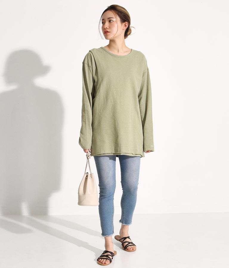 レイヤードデザインロングTシャツ(トップス/Tシャツ)   OP Ocean Pacific