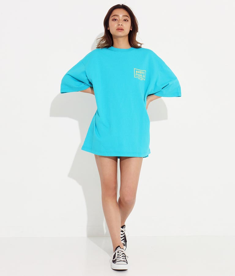 ロゴプリントTシャツ(トップス/Tシャツ)   RUSTY