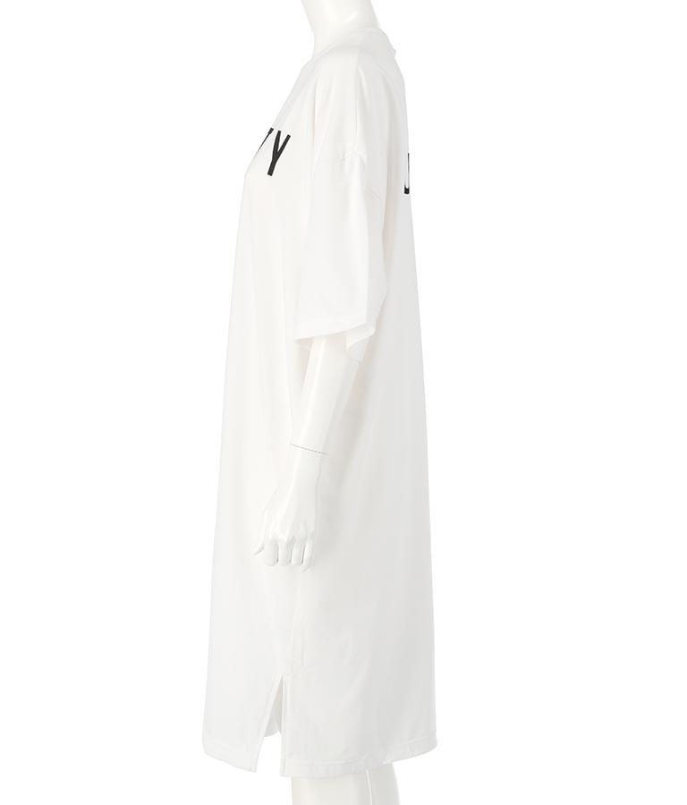 UV半袖Tシャツワンピース(トップス/Tシャツ・ミディアムワンピ)   RUSTY