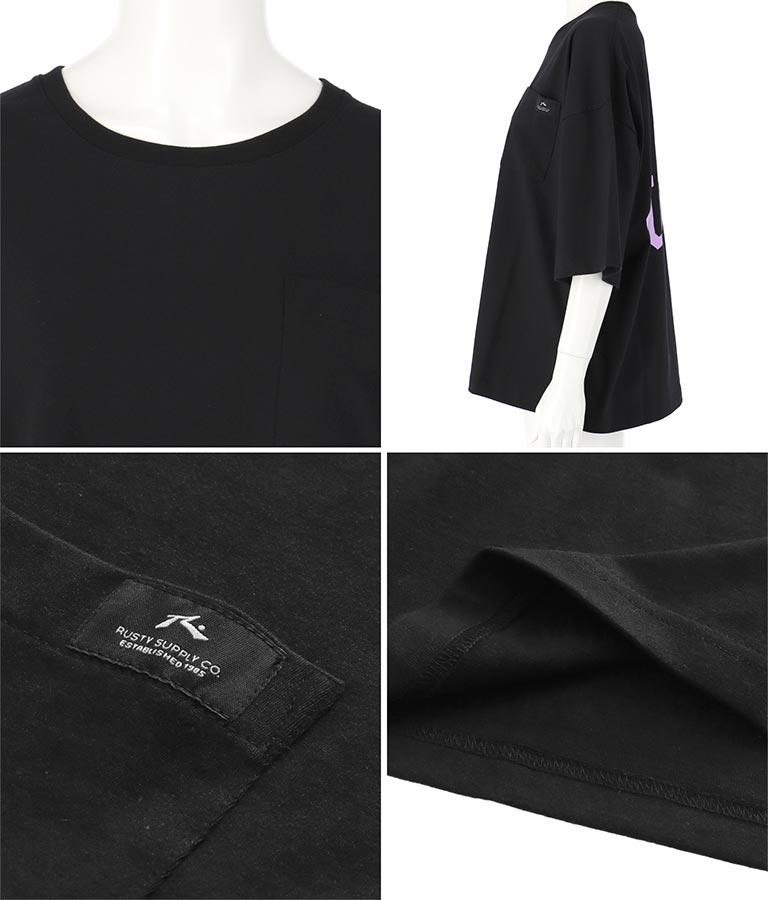 バックロゴTシャツ(トップス/Tシャツ)   RUSTY