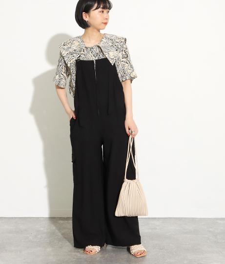 カーゴサロペット(ワンピース・ドレス/サロペット/オールインワン) | Factor=