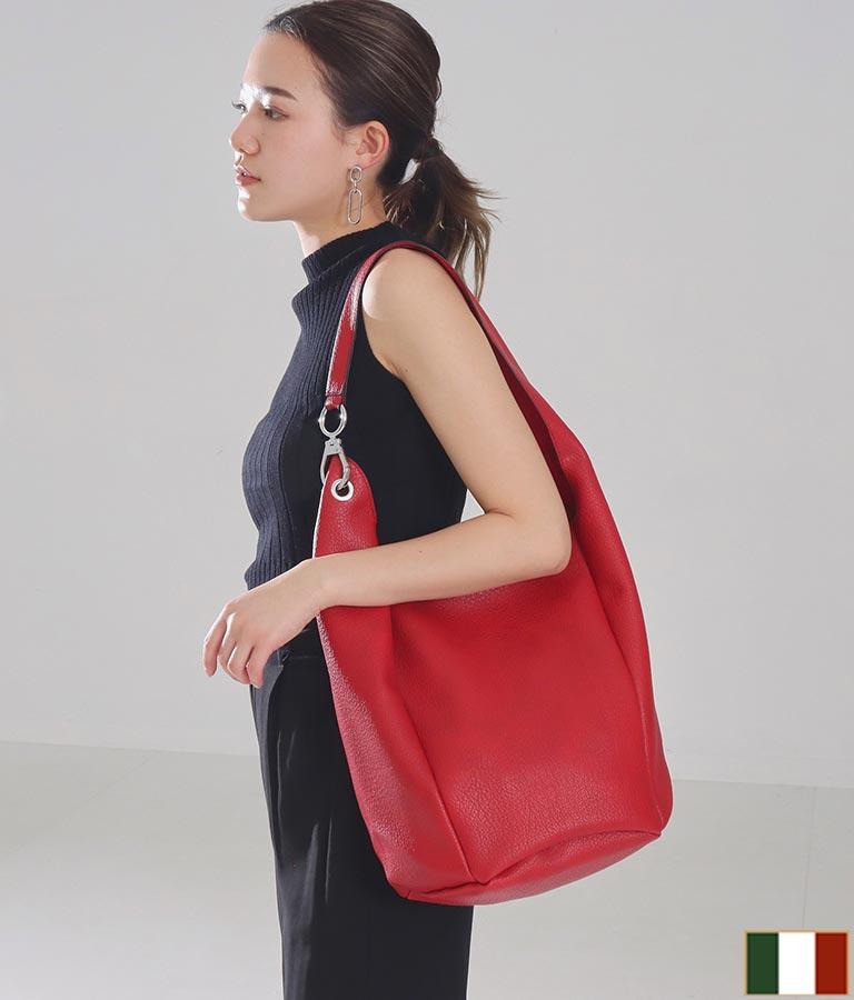 アシンメトリーショルダーバケツバッグ(バッグ・鞄・小物/ショルダーバッグ) | Settimissimo