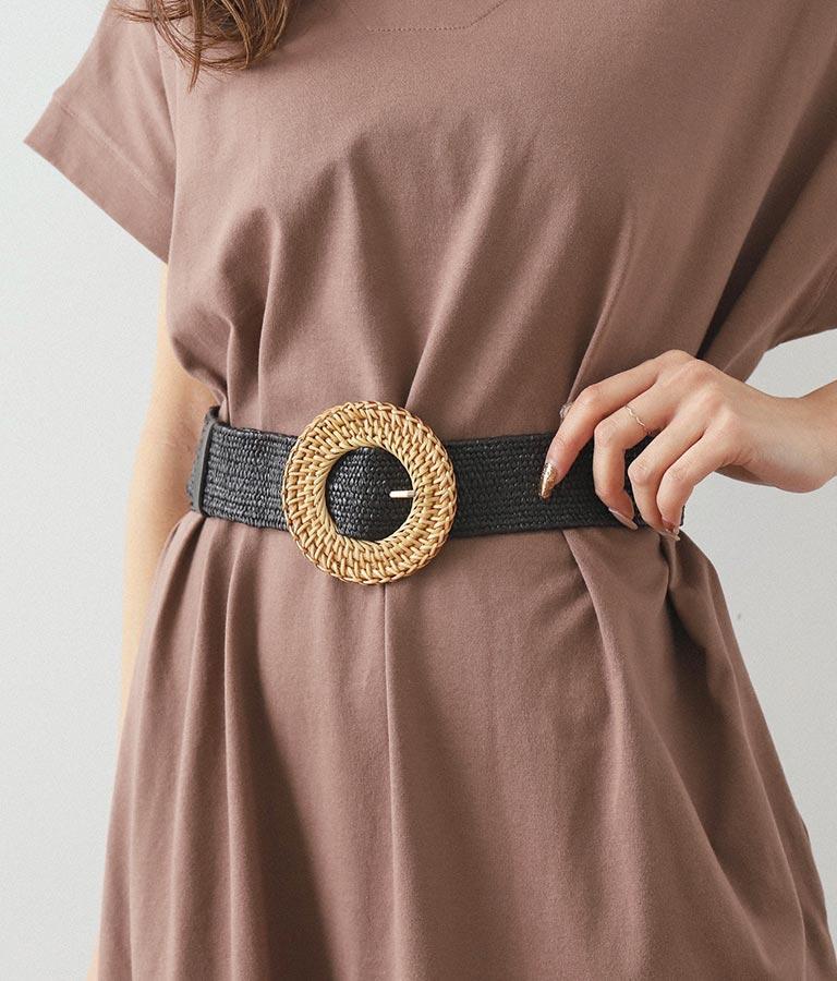 サークルバックルペーパーベルト(ファッション雑貨/ベルト) | CHILLE