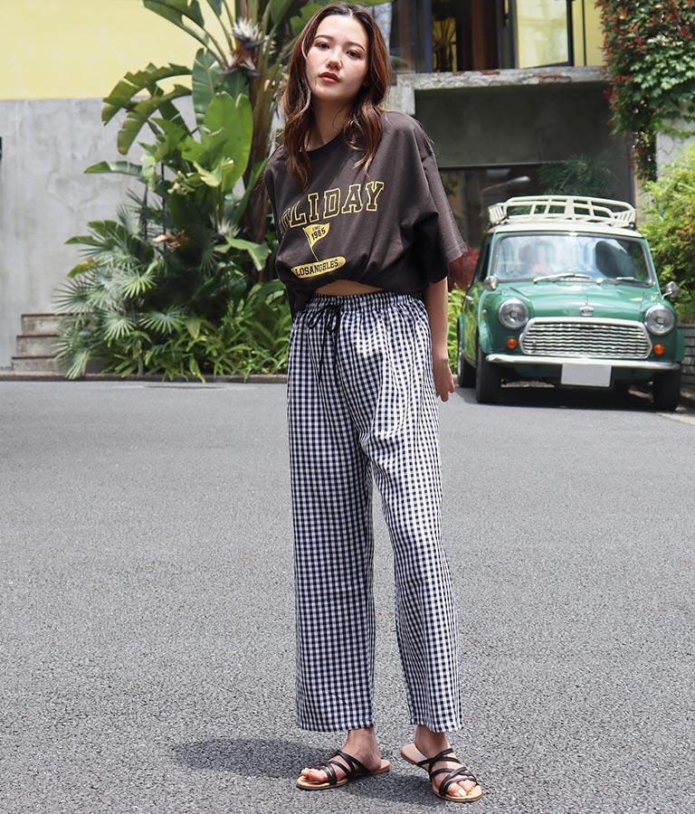 カレッジプリントビックTシャツ(トップス/Tシャツ)   anap mimpi