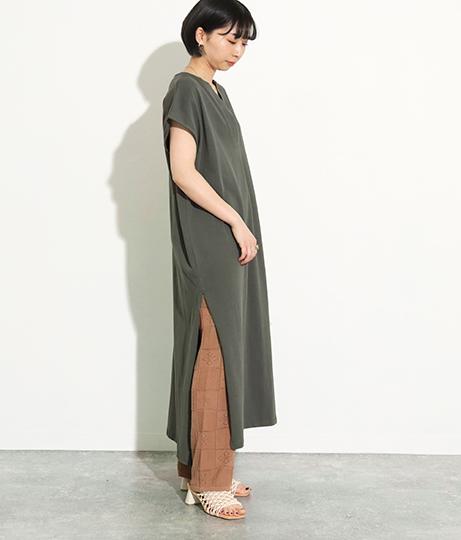 カフタンカットワンピース(ワンピース・ドレス/ロングワンピ) | Factor=