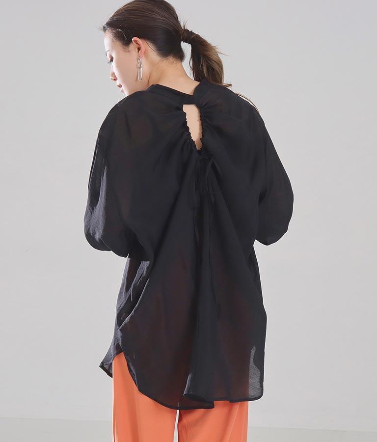 シアーバックスリットシャツ(トップス/シャツ・ブラウス) | Settimissimo