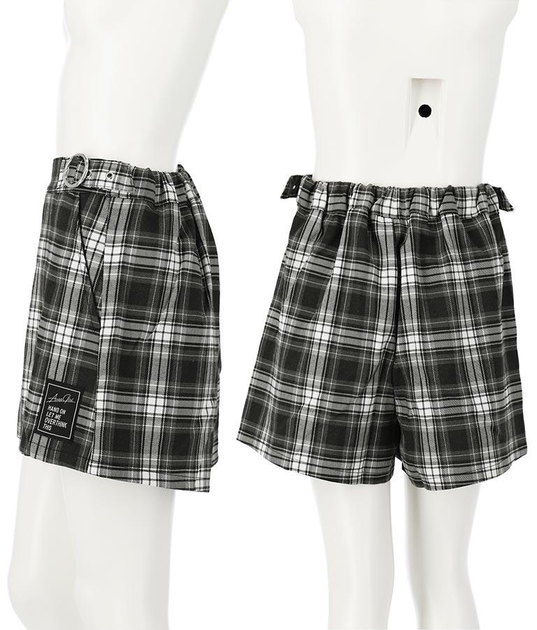 ボックスプリーツスカパン(ボトムス・パンツ /ショートパンツ・スカート) | ANAP GiRL