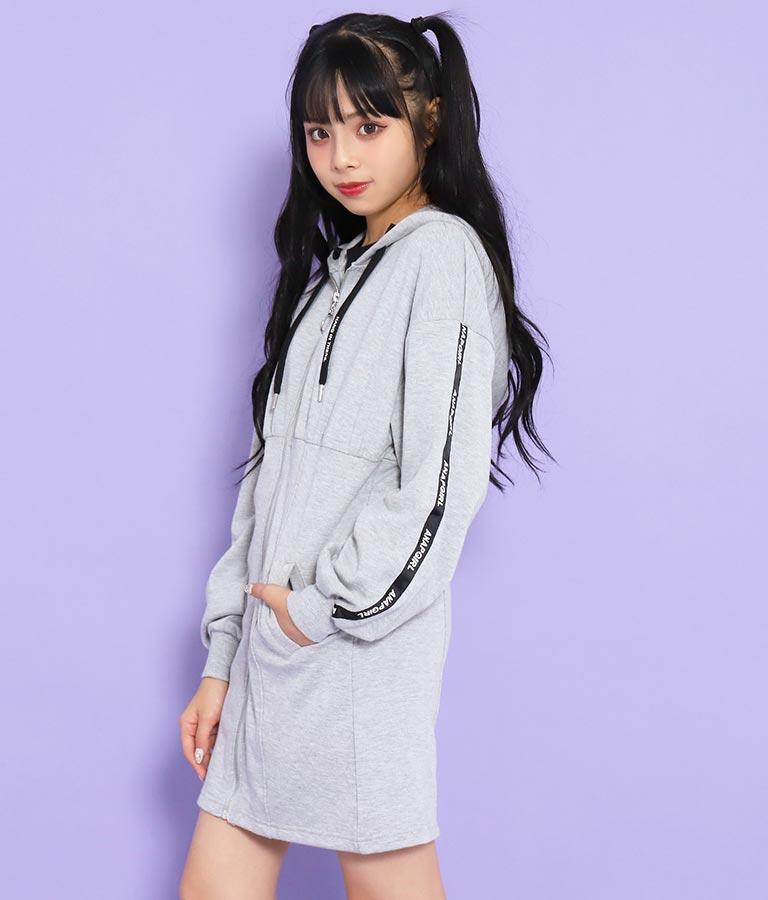 フーディー切替ワンピース(ワンピース・ドレス/ミディアムワンピ) | ANAP GiRL