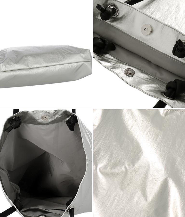 エコレザーシルバートートバッグ(バッグ・鞄・小物/トートバッグ) | anap Latina