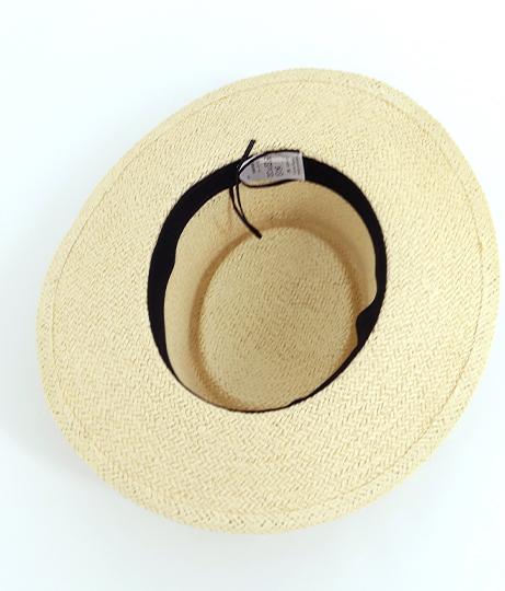 シンプル麦ワラ帽子(ファッション雑貨/ハット・キャップ・ニット帽 ・キャスケット・ベレー帽) | Factor=