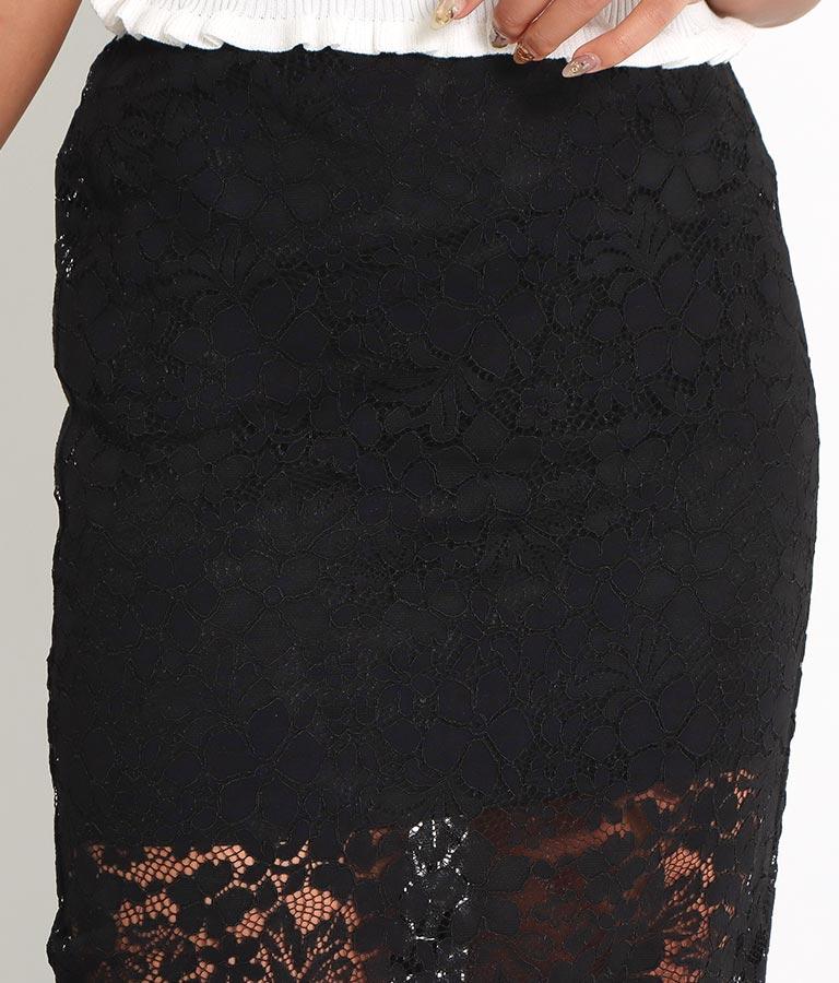 レースレイヤードミニスカート(ボトムス・パンツ /スカート) | anap Latina