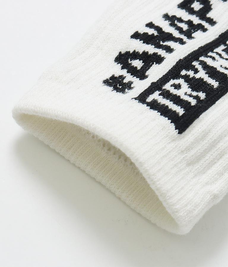 リブショート丈ソックス(ファッション雑貨/ソックス・靴下) | ANAP GiRL