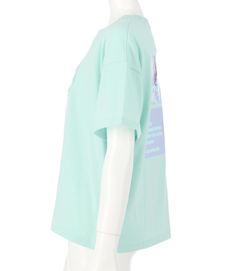 ホログラムワッペンイラストトップス(トップス/Tシャツ)   ANAP GiRL