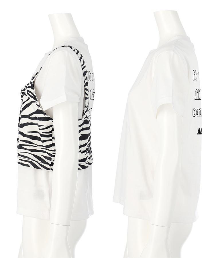 ビスチェ+Tシャツセット(トップス/Tシャツ・ビスチェ・スウェット・トレーナー) | ANAP GiRL