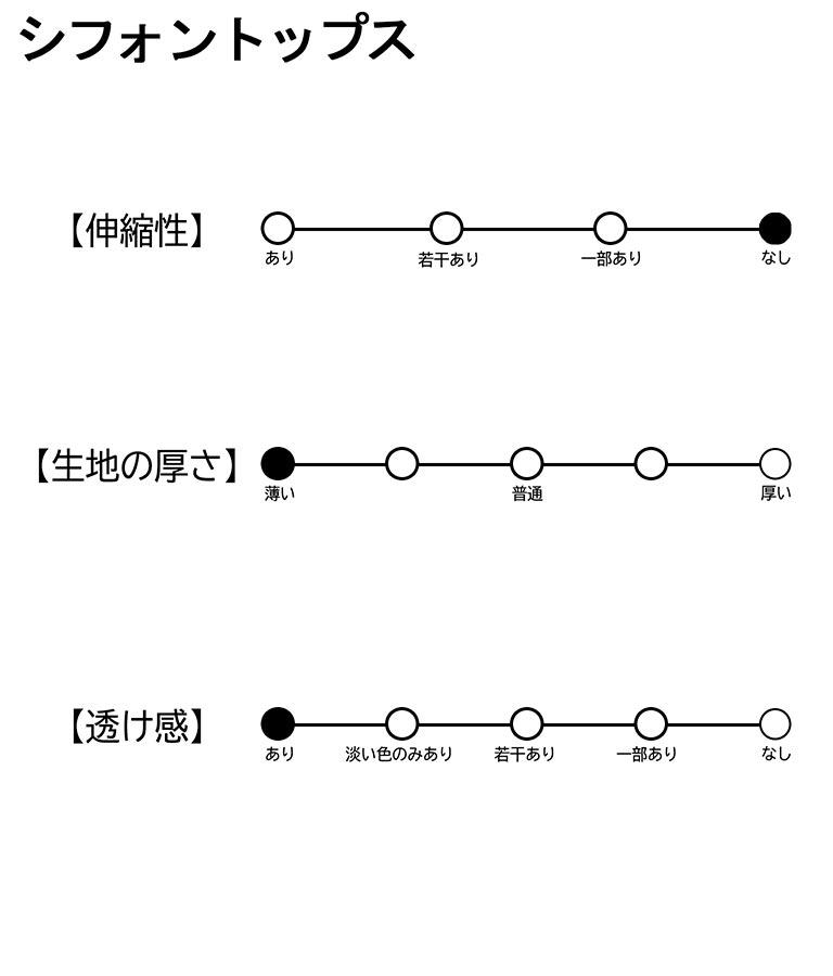 シフォントップス+ペイントワンピースセットアップ(ワンピース・ドレス/ミディアムワンピ) | ANAP GiRL