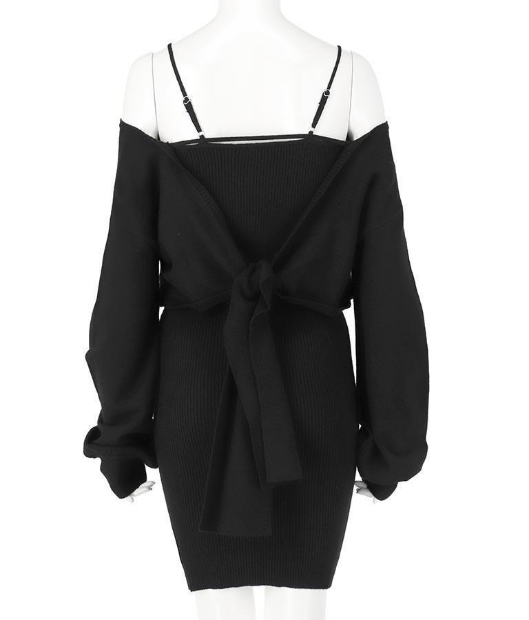 レイヤード風カシュクールタイトミニワンピース(ワンピース・ドレス/ミニワンピ) | anap Latina