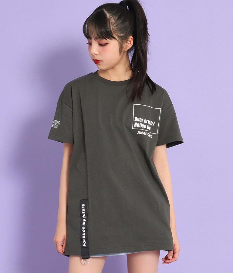 テープ付ビッグトップス(トップス/Tシャツ)   ANAP GiRL