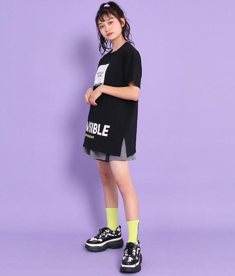 サイドスリットチュニックTシャツ(トップス/Tシャツ)   ANAP GiRL