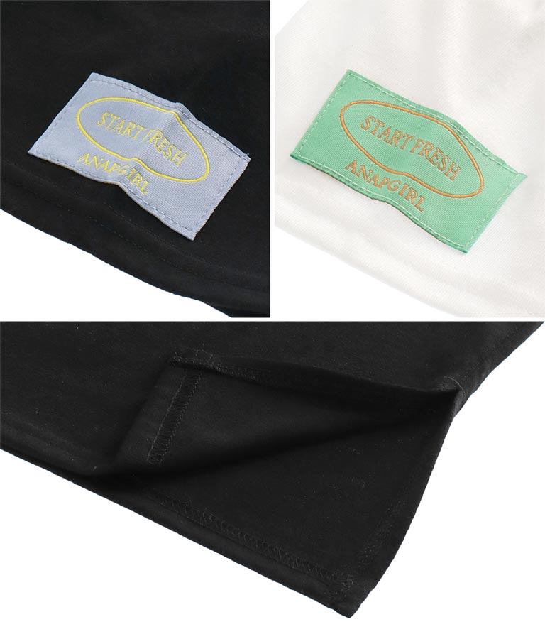 配色刺繍チュニック(トップス/Tシャツ) | ANAP GiRL