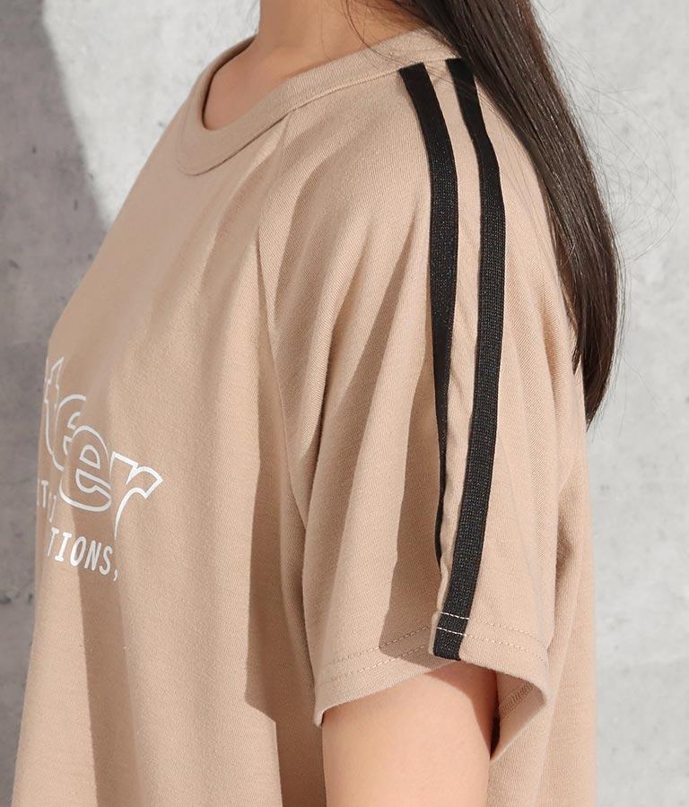 レイヤードトップス×フレアパンツセットアップ(トップス/Tシャツ・ロングパンツ) | ANAP GiRL