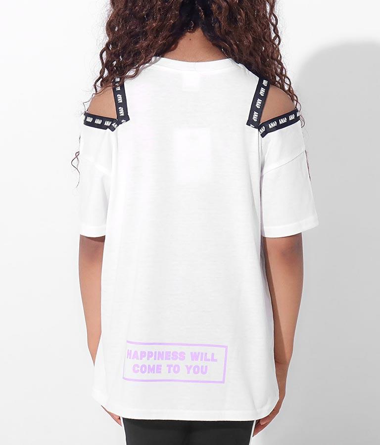 テープ肩あきデザインチュニック(トップス/Tシャツ) | ANAP KIDS