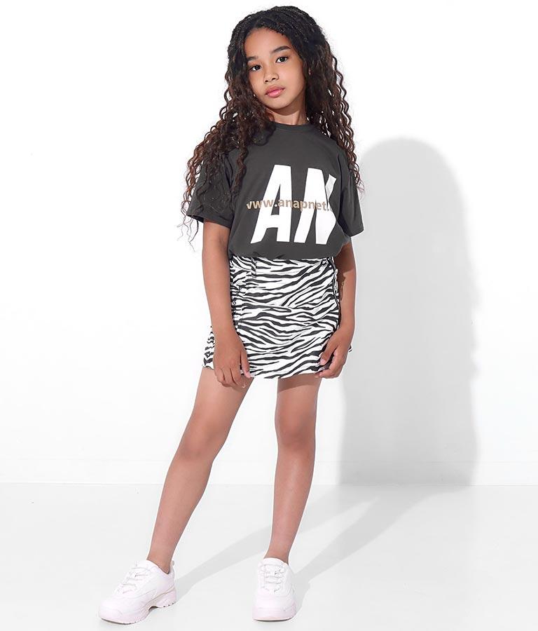 吸水速乾ANAPロゴビッグTシャツ(トップス/Tシャツ) | ANAP KIDS