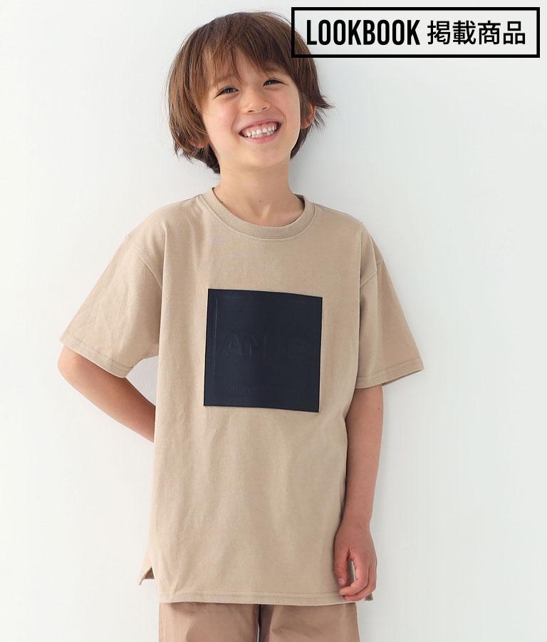 フェイクレザーボックスビッグTシャツ