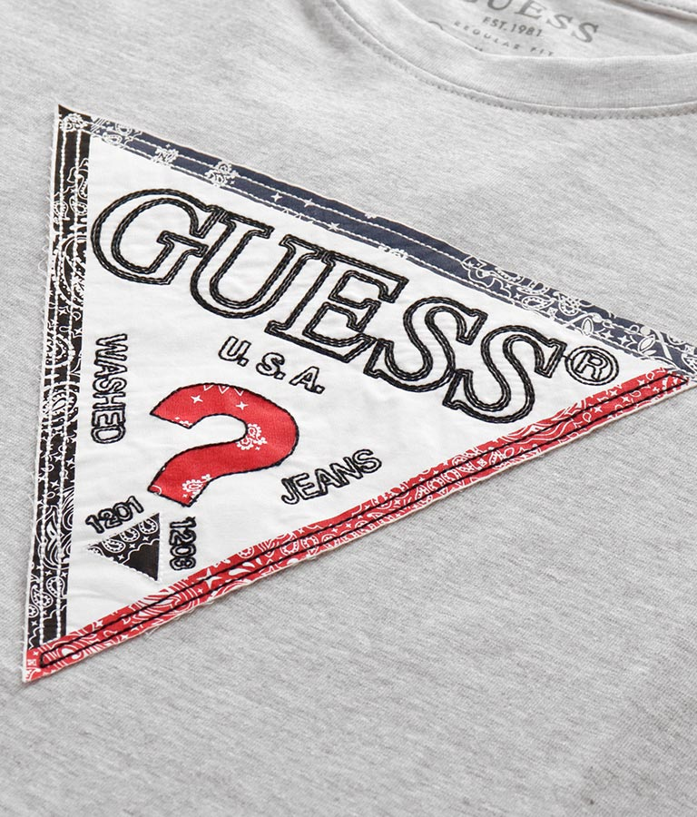 TRIESLEY CN SS TEE(トップス/Tシャツ) | GUESS