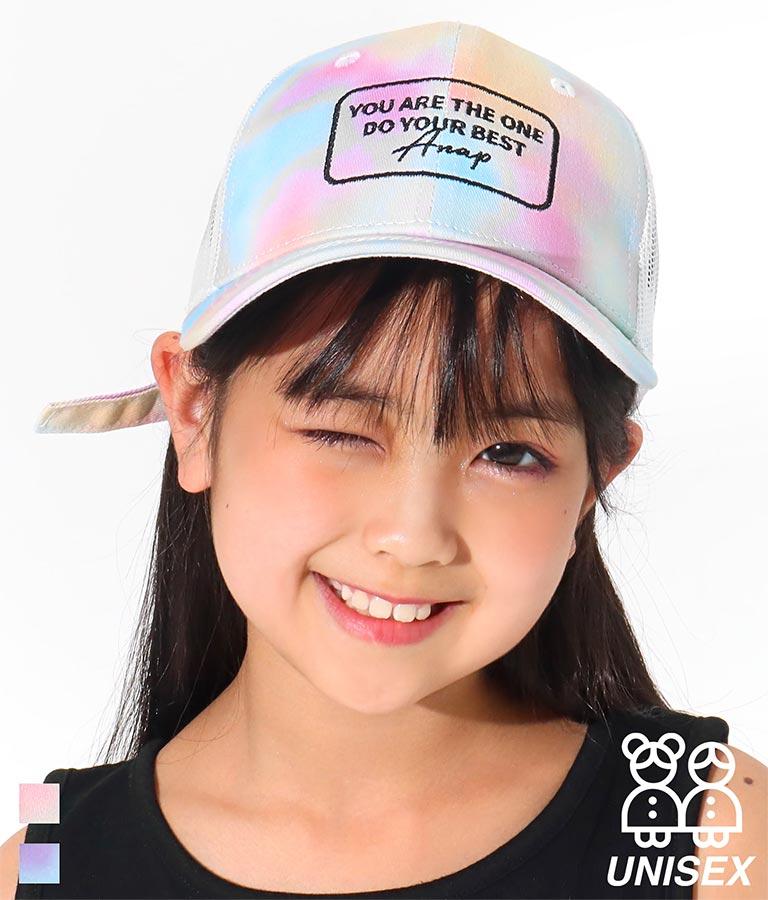 タイダイメッシュキャップ(ファッション雑貨/ハット・キャップ・ニット帽 ・キャスケット・ベレー帽)   ANAP KIDS