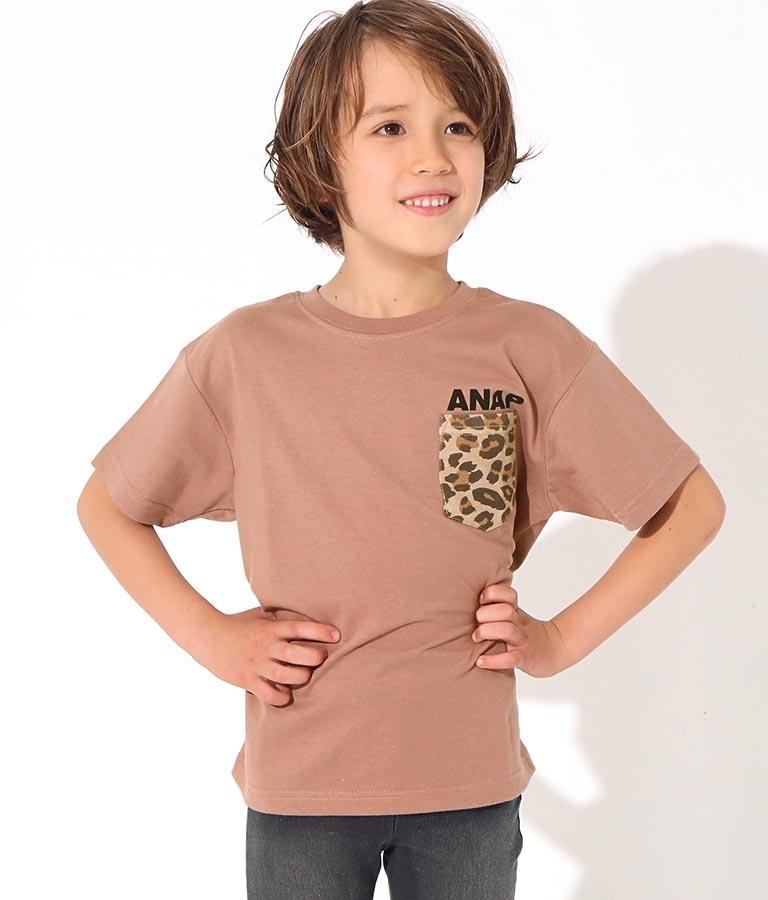 制菌アニマルポケットビッグTシャツ(トップス/Tシャツ) | ANAP KIDS