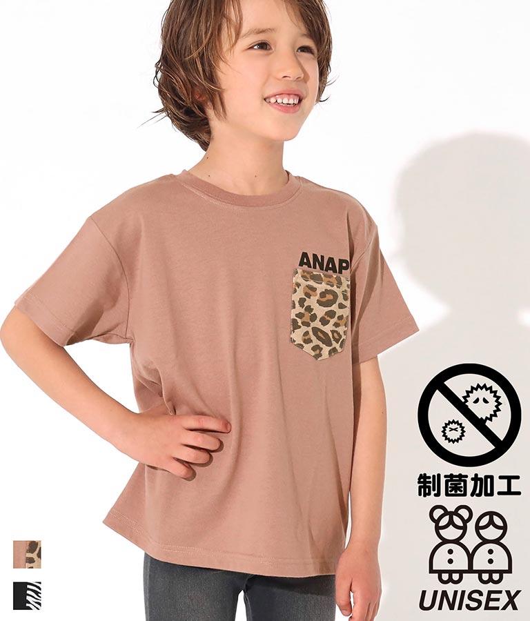 制菌アニマルポケットビッグTシャツ