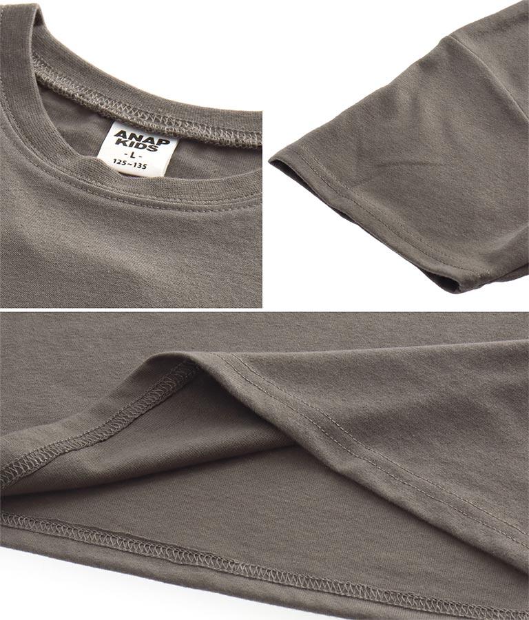 制菌プリントビッグTシャツ(トップス/Tシャツ) | ANAP KIDS