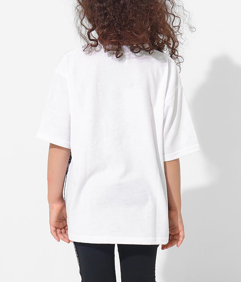 サイドテープビッグTシャツ(トップス/Tシャツ)   ANAP KIDS