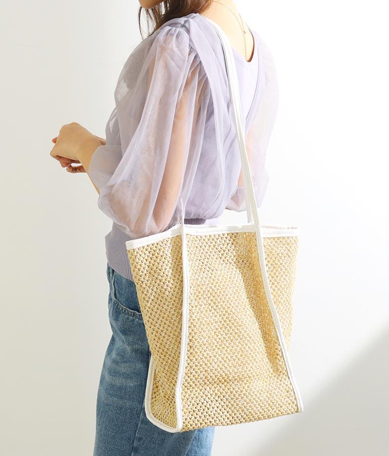 ペーパーパイピングバッグ(バッグ・鞄・小物/トートバッグ) | CHILLE