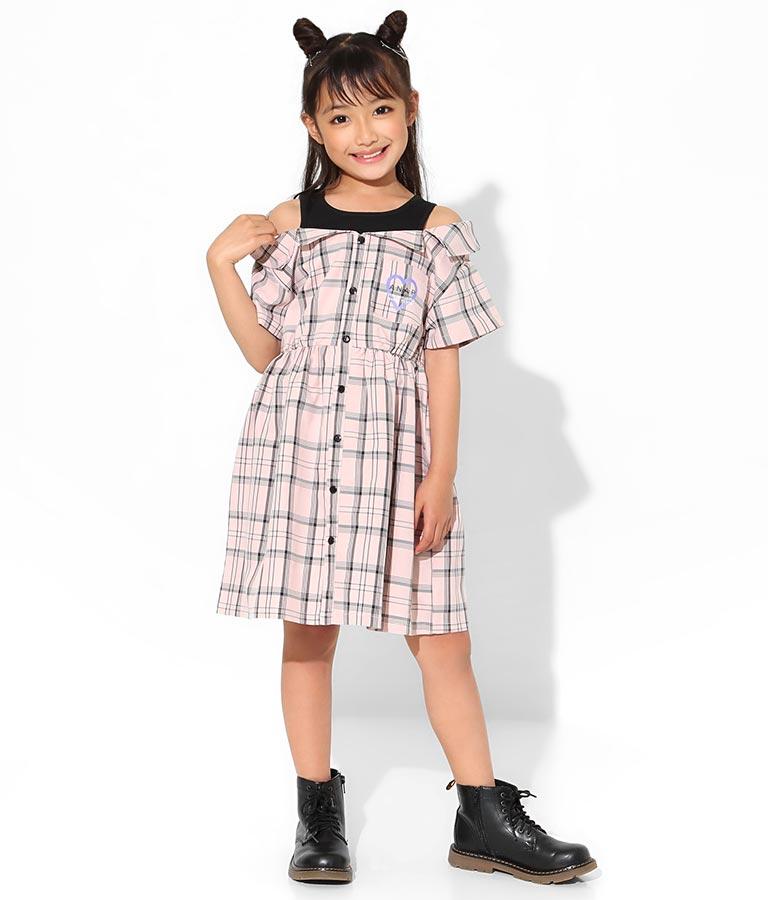 ドッキングワンピース(ワンピース・ドレス/ミディアムワンピ) | ANAP KIDS