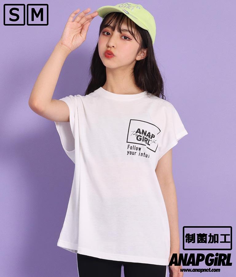 制菌バックプリントTシャツ(トップス/Tシャツ) | ANAP GiRL